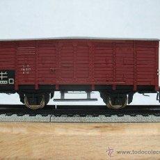 Trenes Escala: FLEISCHMANN,VAGON DE MERCANCIAS DE LA DB -114 339- G10- ESCALA H0. Lote 44039292