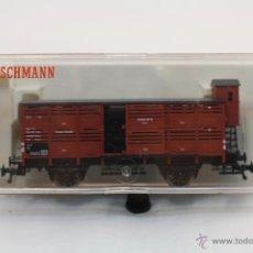 Trenes Escala: VAGÓN DE TREN - FLEISCHMANN 5366 - HAMBURG 493 VH - TREN ESCALA H0 - CAJA ORIGINAL - #XCT. Lote 44237789