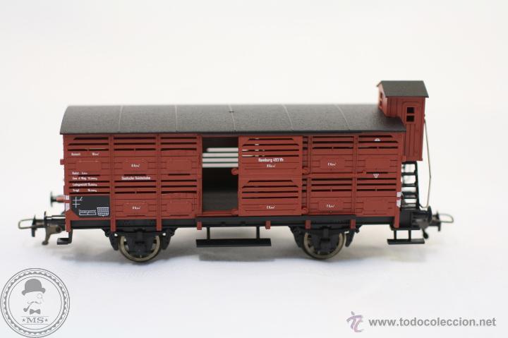 Trenes Escala: Vagón de Tren - Fleischmann 5366 - Hamburg 493 Vh - Tren Escala H0 - Caja Original - #XCT - Foto 3 - 44237789