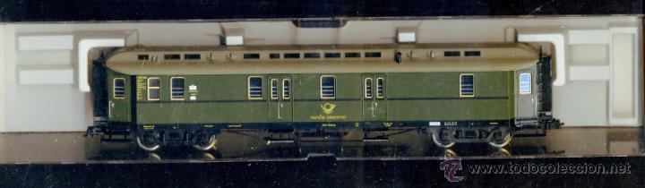 FLEISCHMANN 5678 - FURGON POSTAL 3067 - DEUTSCHE BUNDESPOST - ALEMANIA DEUTSCHLAND CORREOS (Juguetes - Trenes Escala H0 - Fleischmann H0)