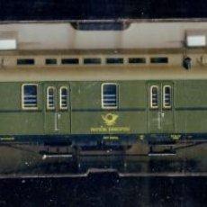 Trenes Escala: FLEISCHMANN 5678 - FURGON POSTAL 3067 - DEUTSCHE BUNDESPOST - ALEMANIA DEUTSCHLAND CORREOS. Lote 46333635