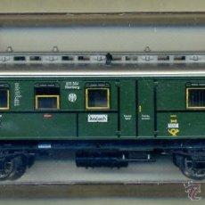 Trenes Escala: FLEISCHMANN 5065 - COCHE VIAJEROS / FURGON CORREOS - DRG DEUTSCHE REICHSBAHN- ALEMANIA DEUTSCHLAND. Lote 46334007