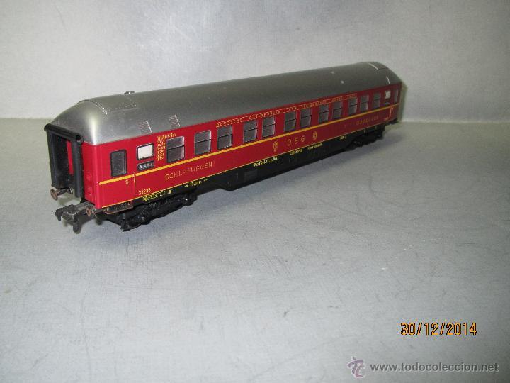 Trenes Escala: Coche Cama Express de la DSG en Escala *H0* de FLEISCHMANN - Foto 2 - 47015847