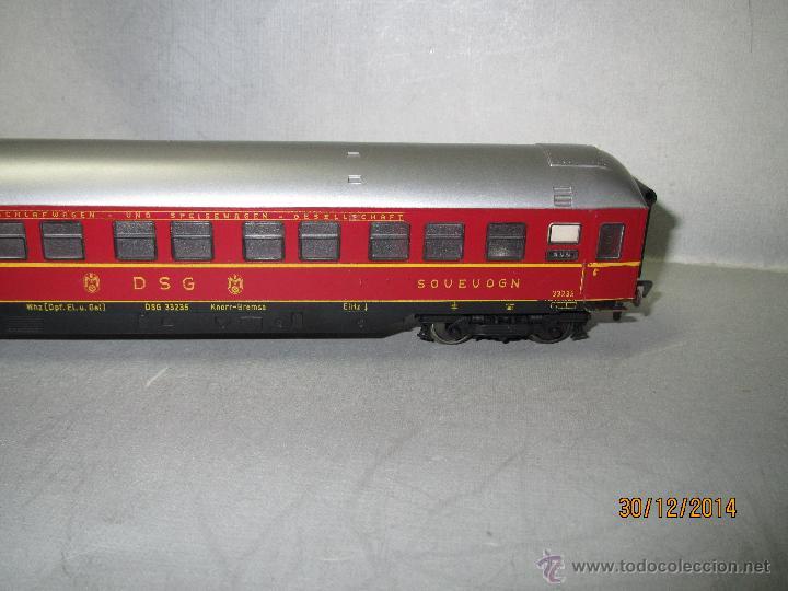 Trenes Escala: Coche Cama Express de la DSG en Escala *H0* de FLEISCHMANN - Foto 3 - 47015847