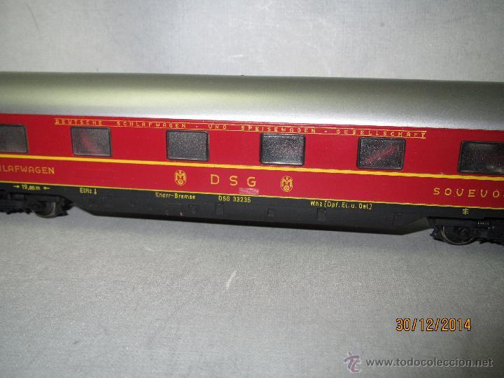 Trenes Escala: Coche Cama Express de la DSG en Escala *H0* de FLEISCHMANN - Foto 5 - 47015847