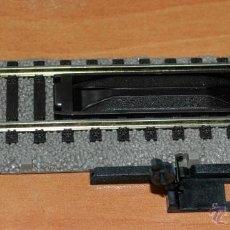 Trenes Escala: VÍA DE DESENGANCHE MANUAL DE 100 MM LONG., PROFI-GLEIS DE FLEISCHMANN ESCALA HO. Lote 47823274