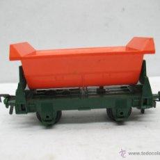 Trenes Escala: FLEISCHMANN REF: 1456 - VAGÓN TOLVA NARANJA - ESCALA H0. Lote 50019886