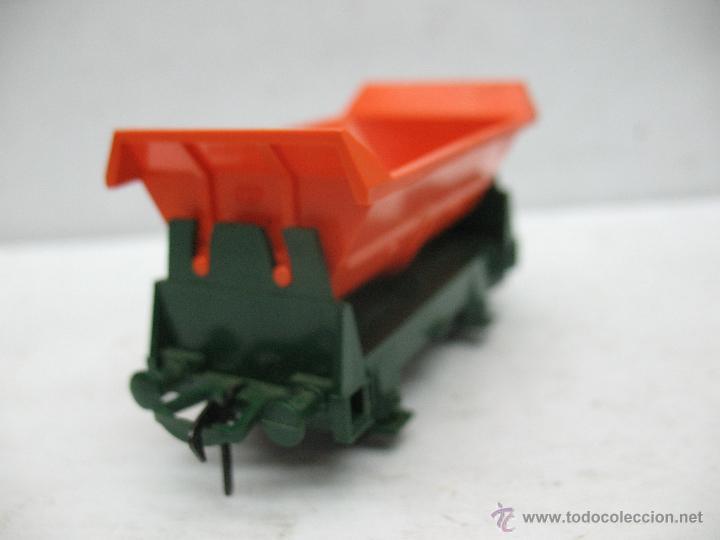 Trenes Escala: Fleischmann Ref: 1456 - Vagón tolva naranja - Escala H0 - Foto 3 - 50019886