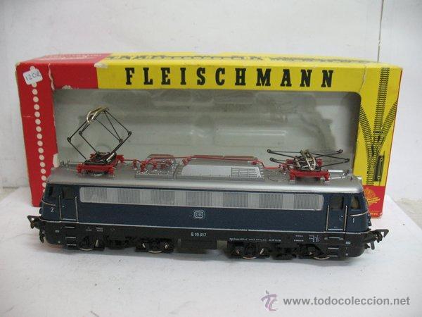 FLEISCHMANN REF: 1347 - LOCOMOTORA ELÉCTRICA CORRIENTE CONTINUA DE LA DB - ESCALA H0 (Juguetes - Trenes Escala H0 - Fleischmann H0)
