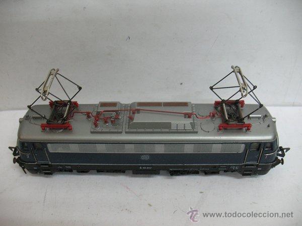 Trenes Escala: Fleischmann Ref: 1347 - Locomotora eléctrica corriente continua de la DB - Escala H0 - Foto 2 - 183170271