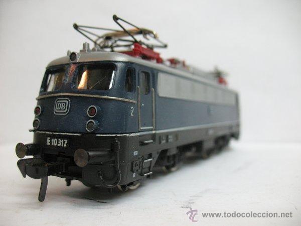 Trenes Escala: Fleischmann Ref: 1347 - Locomotora eléctrica corriente continua de la DB - Escala H0 - Foto 4 - 183170271