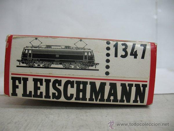 Trenes Escala: Fleischmann Ref: 1347 - Locomotora eléctrica corriente continua de la DB - Escala H0 - Foto 6 - 183170271