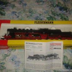 Trenes Escala: DB LOCOMOTORA DE VAPOR H0 FLEISCHMANN REF. 4176. Lote 55863084