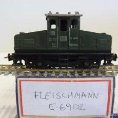 Trenes Escala: FLEISCHMANN H0 - LOCOMOTORA ELECTRICA E6902 DB - SIN PANTÓGRAFO - SIN CAJA ORIGINAL. Lote 55897055