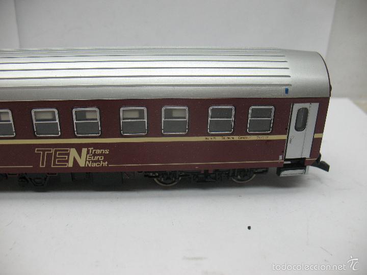 Trenes Escala: Fleischmann - Coche cama largo TEN Trans Europ Nacht de la DB - Escala H0 - Foto 6 - 57592794
