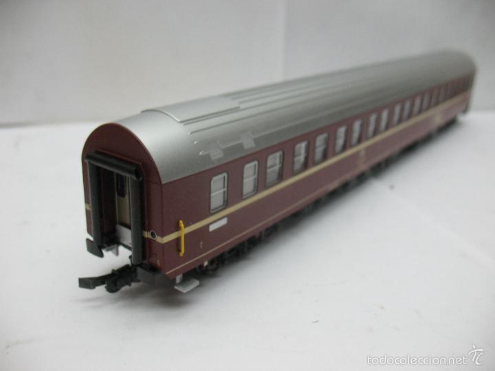 Trenes Escala: Fleischmann - Coche cama largo TEN Trans Europ Nacht de la DB - Escala H0 - Foto 7 - 57592794