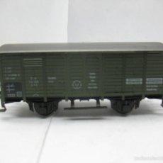 Trenes Escala: FLEISCHMANN - VAGÓN DE MERCANCÍAS CERRADO DE LA DB V 114 339 - ESCALA H0. Lote 58061116