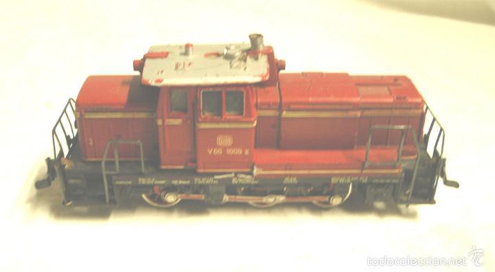 Trenes Escala: Locomotora diesel fleischmann V60 1009 de la DB - Foto 3 - 58645627