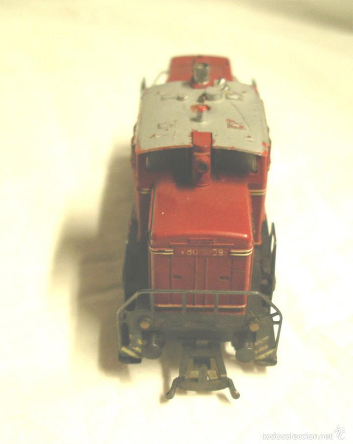 Trenes Escala: Locomotora diesel fleischmann V60 1009 de la DB - Foto 4 - 58645627