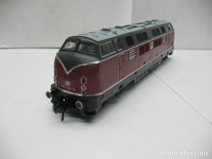 Trenes Escala: Fleischmann Ref: 4235 - Locomotora Diesel de la DB 221 131-6 corriente continua - Escala H0 - Foto 7 - 61728840