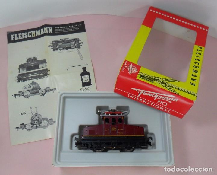 FLEISCHMANN H0 - LOCOMOTORA DB 169 003-1 - FUNCIONA - CAJA ORIGINAL (Juguetes - Trenes Escala H0 - Fleischmann H0)