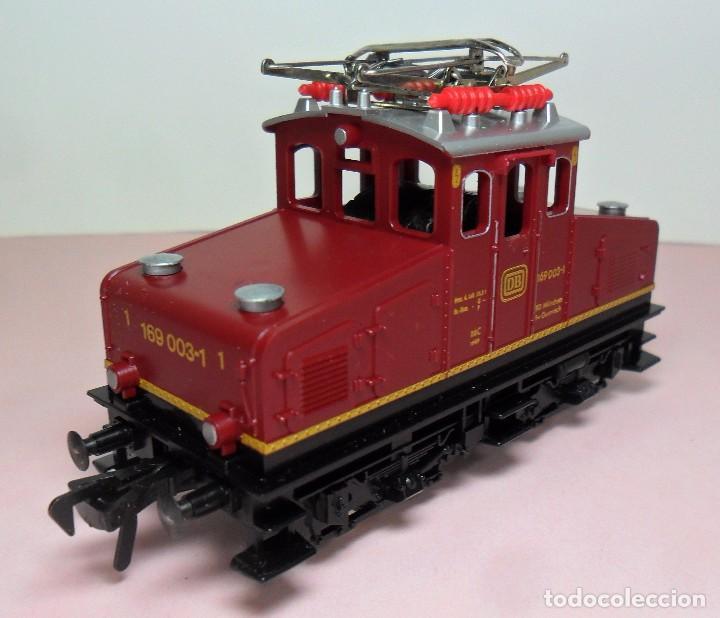 Trenes Escala: FLEISCHMANN H0 - Locomotora DB 169 003-1 - Funciona - Caja original - Foto 3 - 61735900