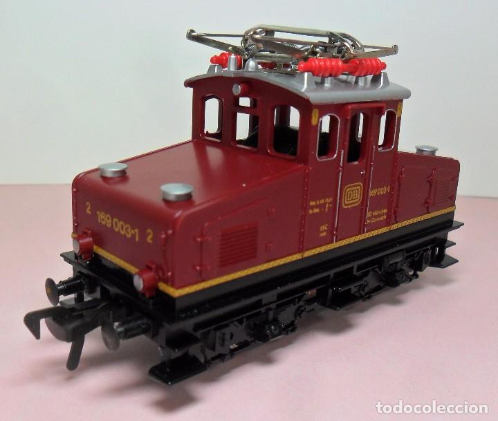 Trenes Escala: FLEISCHMANN H0 - Locomotora DB 169 003-1 - Funciona - Caja original - Foto 5 - 61735900