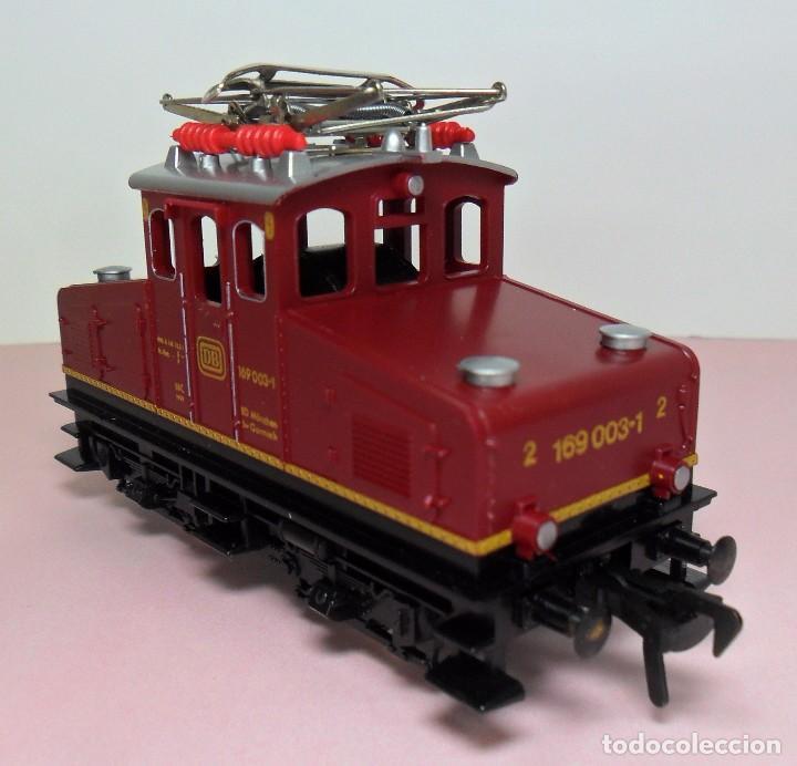 Trenes Escala: FLEISCHMANN H0 - Locomotora DB 169 003-1 - Funciona - Caja original - Foto 6 - 61735900