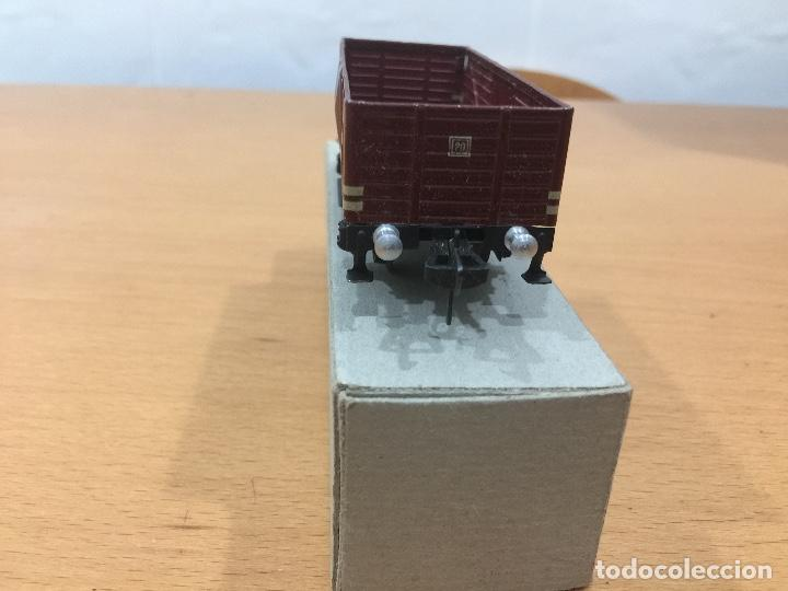 Trenes Escala: FLEISCHMANN ESCALA H0 VAGOR MERCANCIAS AÑOS 50 - Foto 2 - 65799530