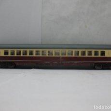 Trenes Escala: FLEISCHMANN REF: 5168 - COCHE DE PASAJEROS DE LA DB BEIGE Y GRANATE - ESCALA H0. Lote 66323474