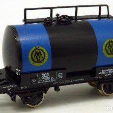 Trenes Escala: VAGÓN CISTERNA H0 FLEISCHMANN ROCO. Lote 67132917