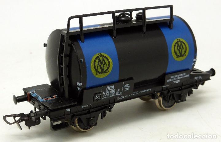 Trenes Escala: Vagón cisterna H0 Fleischmann Roco - Foto 2 - 67132917
