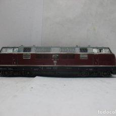 Trenes Escala: FLEISCHMANN REF: 1384 - LOCOMOTORA DIÉSEL CORRIENTE CONTINUA DE LA DB - ESCALA H0. Lote 68122277