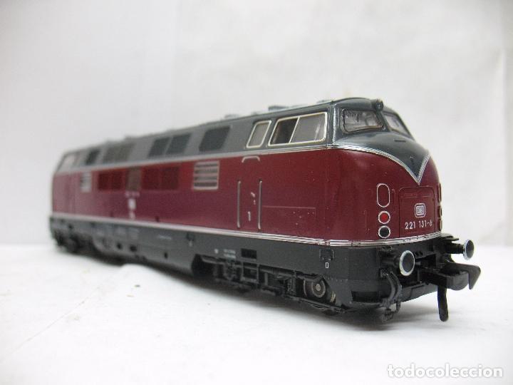Trenes Escala: FLEISCHMANN Ref: 1384 - Locomotora diésel corriente continua de la DB - Escala H0 - Foto 4 - 68122277