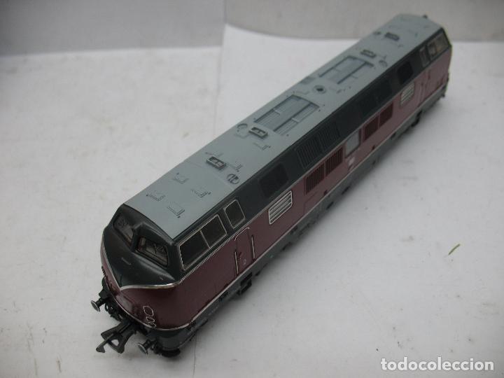 Trenes Escala: FLEISCHMANN Ref: 1384 - Locomotora diésel corriente continua de la DB - Escala H0 - Foto 5 - 68122277