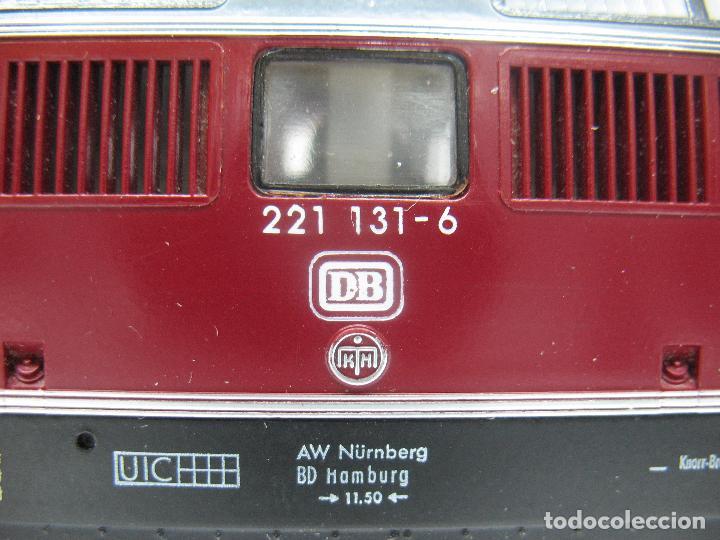 Trenes Escala: FLEISCHMANN Ref: 1384 - Locomotora diésel corriente continua de la DB - Escala H0 - Foto 8 - 68122277