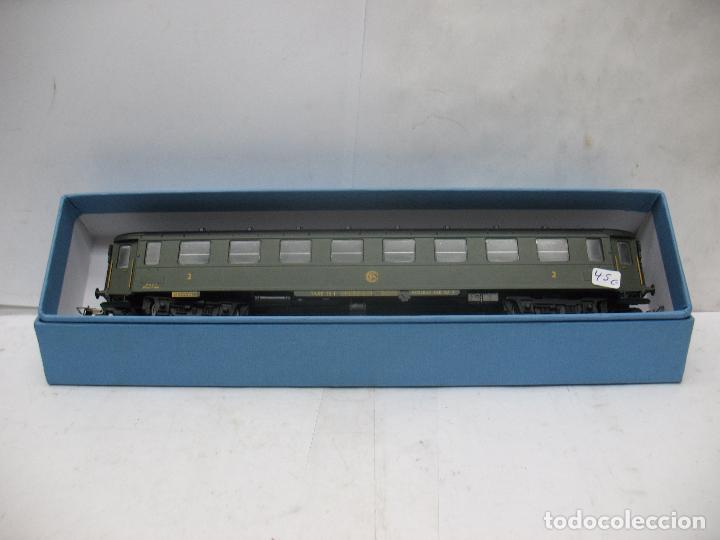 Trenes Escala: FLEISCHMANN - Coche de pasajeros de la SNCF Regleur SAB QA - Escala H0 - Foto 2 - 68200853