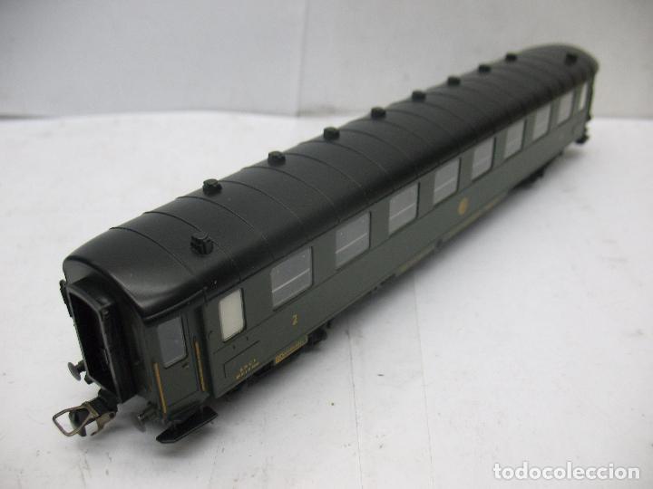 Trenes Escala: FLEISCHMANN - Coche de pasajeros de la SNCF Regleur SAB QA - Escala H0 - Foto 4 - 68200853