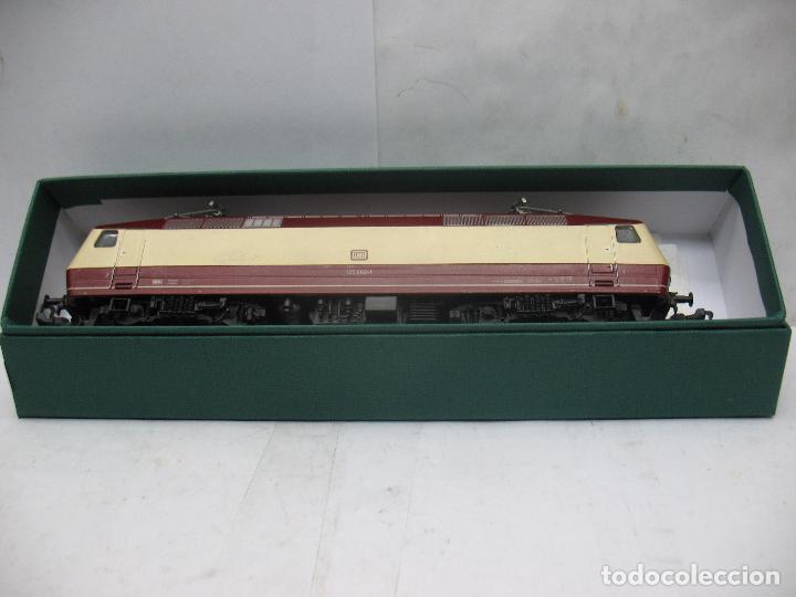 Trenes Escala: FLEISCHMANN - Locomotora eléctrica de corriente continua de la DB 120 002-1 - Escala H0 - Foto 2 - 68648013