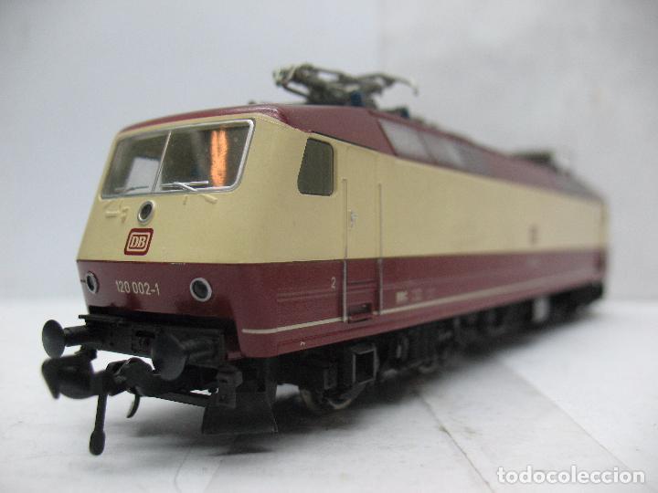 Trenes Escala: FLEISCHMANN - Locomotora eléctrica de corriente continua de la DB 120 002-1 - Escala H0 - Foto 3 - 68648013