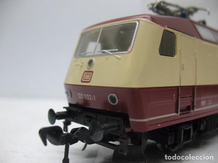 Trenes Escala: FLEISCHMANN - Locomotora eléctrica de corriente continua de la DB 120 002-1 - Escala H0 - Foto 7 - 68648013