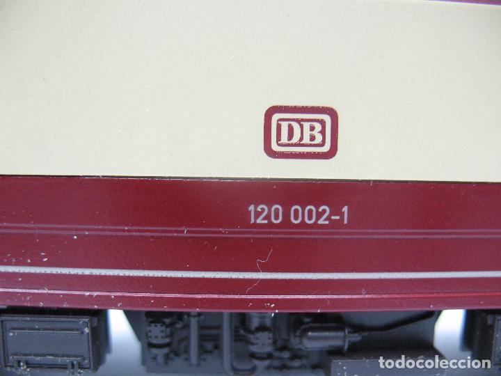 Trenes Escala: FLEISCHMANN - Locomotora eléctrica de corriente continua de la DB 120 002-1 - Escala H0 - Foto 8 - 68648013