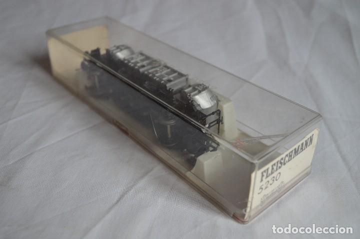 Trenes Escala: Fleischmann. Vagón contenedor de la DB. H0. Ref. 5230. romanjuguetesymas. - Foto 3 - 69536645