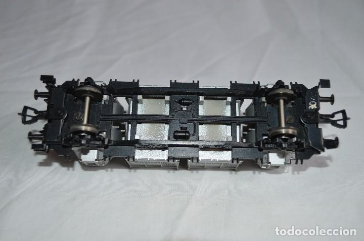 Trenes Escala: Fleischmann. Vagón contenedor de la DB. H0. Ref. 5230. romanjuguetesymas. - Foto 7 - 69536645
