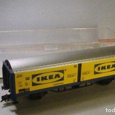 Trenes Escala: FLEISCHMANN #5337K. H0. VAGÓN PUERTAS CORREDIZAS IKEA. Lote 69731073