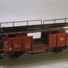 Treni in Scala: FLEISCHMANN H0 #5224. VAGÓN TRANSPORTE DE AUTOMÓVILES. Lote 69771905