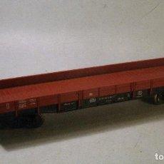 Trenes Escala: FLEISCHMANN H0. VAGÓN BORDES BAJOS ROJO 20 80 368. Lote 69773333