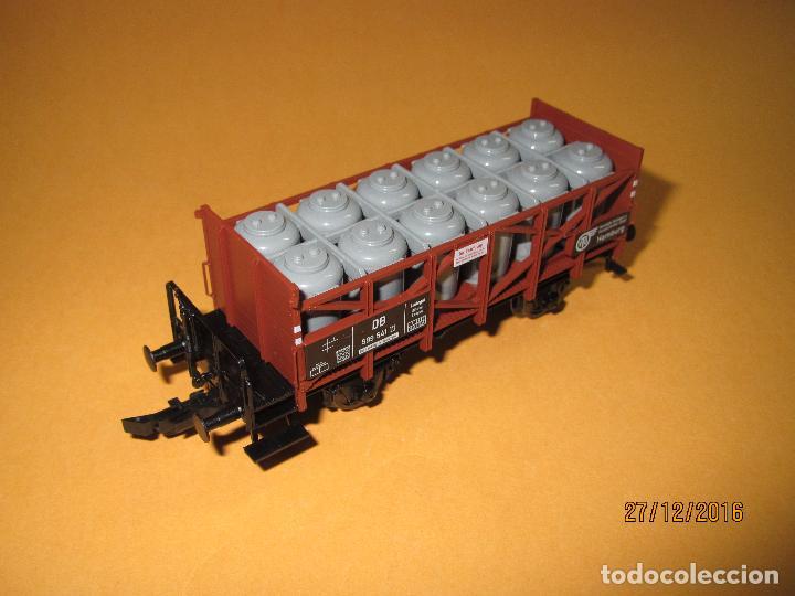 Trenes Escala: Descatalogado Vagón Transporte de Tanques de Almacenamiento en Escala *H0* de FLEISCHMANN - Foto 4 - 71217269