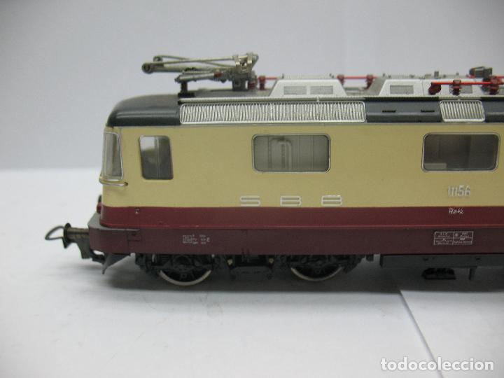 Trenes Escala: Fleischmann - Locomotora eléctrica de la SBB FFS 11156 corriente alterna - Escala H0 - Foto 2 - 71245799