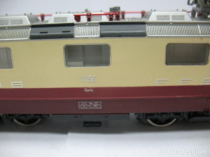 Trenes Escala: Fleischmann - Locomotora eléctrica de la SBB FFS 11156 corriente alterna - Escala H0 - Foto 3 - 71245799